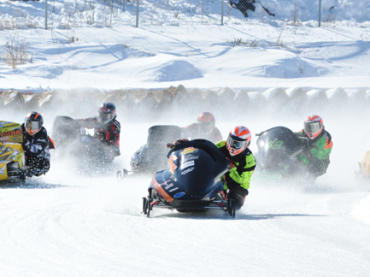Local racers tackle ice oval in Eganville