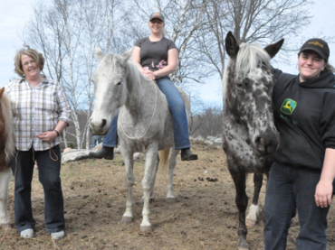 Hope Reins at Vandergragt horse farm