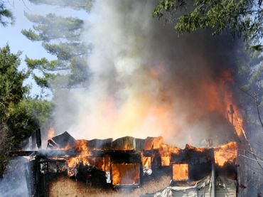 Fire destroys Pikwàkanagàn home
