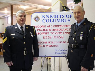 Knights of Columbus' 11th annual Blue Mass