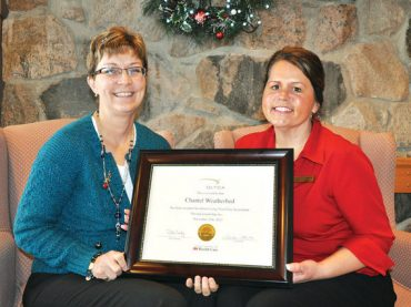 Valley Manor RN recognized for exceptional nursing