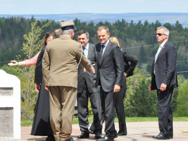 Polish prime minister visits Wilno
