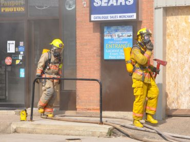 Fire at the  Killaloe IDA Village Pharmacy