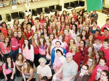 MVDHS goes pink to support anti-bullying day