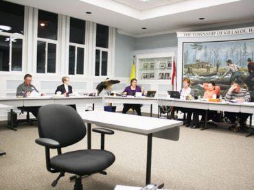 Killaloe council meeting