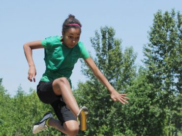 Elementary kids triumphant at track and field games