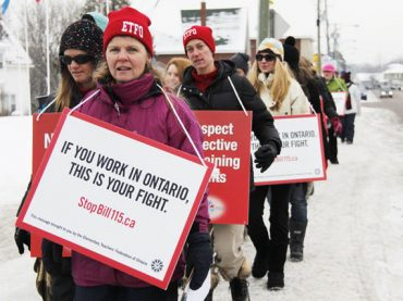 Bill 115 not only affecting teachers
