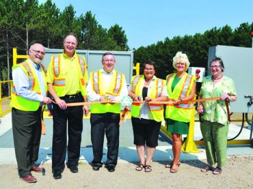 Minister of Environment  tours Killaloe waste site