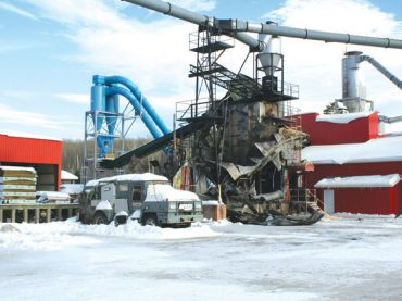 Fire destroys bagger at Pastway Planing