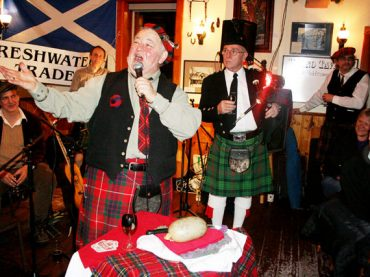 Robbie Burns continues to draw large crowds