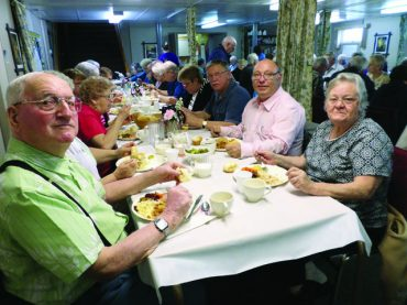 Annual Church fundraiser meal a crowd-pleasing success