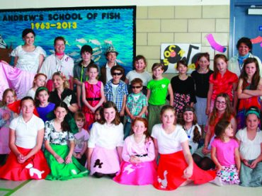 St. Andrew's students flash back to the 60s