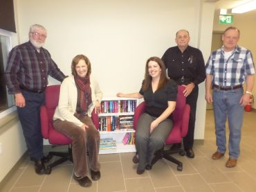 Lending library opens to the public