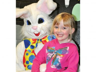 Easter Bunny spotted in Palmer Rapids