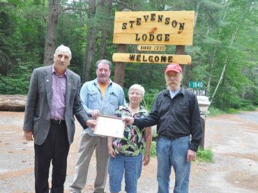 Stevenson Lodge celebrating 75 years of history