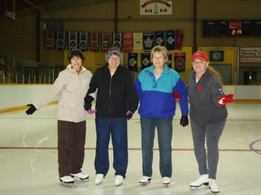 Seniors getting active at the arena
