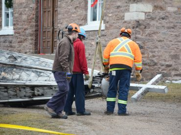 Firefighters save historic Brudenell church