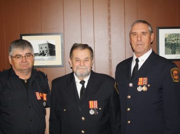 MV Fire Department honours retiring firefighters