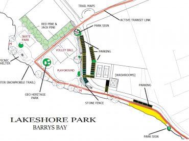 Plans for Lakeshore Park revealed