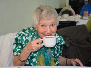 Irish eyes are smiling at St. Lawrence tea