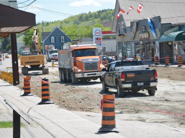 Opeongo Line construction pushes forward