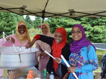 Hasanville community celebrates Eid