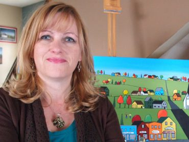 Wilno native immortalizing local homesteads on canvas