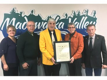 Township of Madawaska Valley accepts Lipusz Declaration of Cooperation