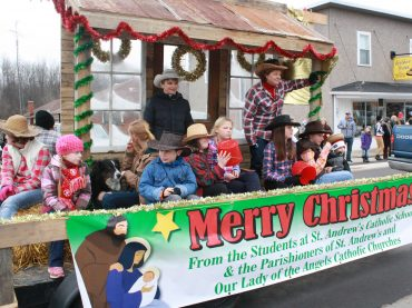 66th annual Killaloe Lions Santa parade