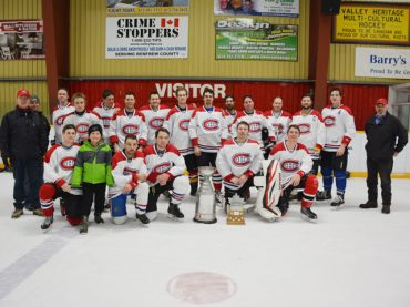 Canadiens take home Stanley Cup at Hockey Day'z