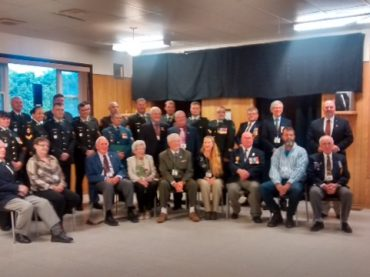 Barry's Bay legion hosts veteran's dinner
