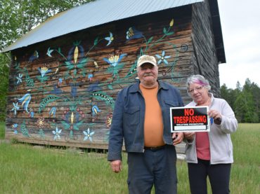 Ask, just don't trespass, local residents plead