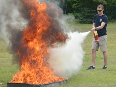 Open house teaches fire safety