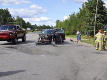 Highway 60 collision sends one to hospital