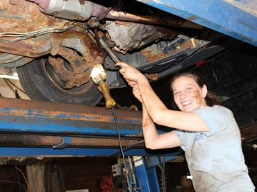 Driven to succeed in the field of auto mechanics
