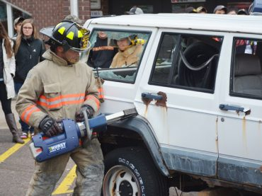 Dangers of distracted driving brought to life