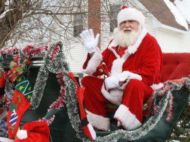 Santa Claus Parade coming to town December 3