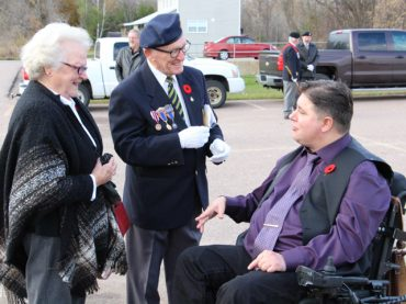 Minister of Veterans Affairs visits Renfrew County