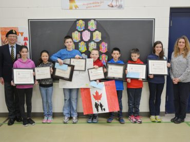 Remembrance Day poster contest winners announced