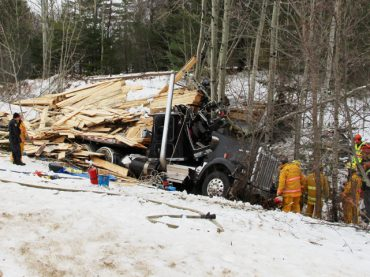 Fatal truck crash in Deacon