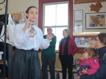 Performers bring Railway Station history to life