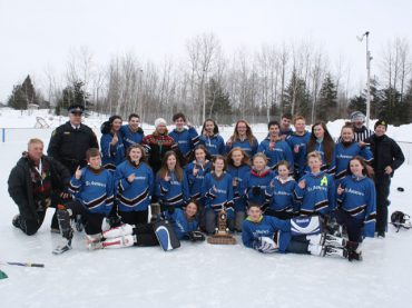 Lions and OPP host annual school broomball tournament