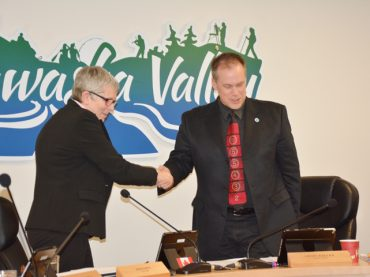 MV bids farewell to CAO clerk