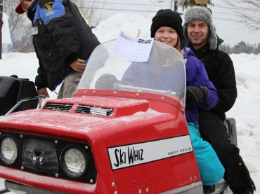 First vintage sled show in Barry's Bay
