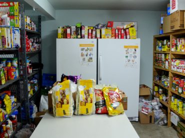 MV township assists food bank in rent dilemma