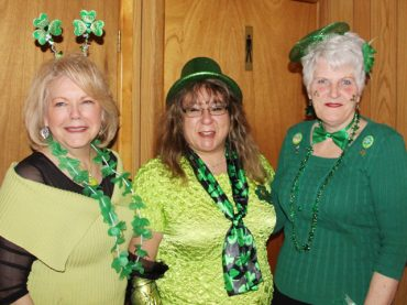 The Lions Club fun for St. Paddy's Day