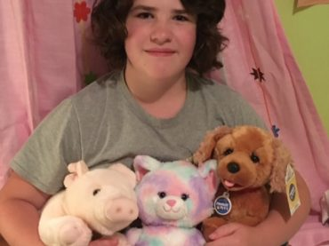 Local girl is raising money for hospital