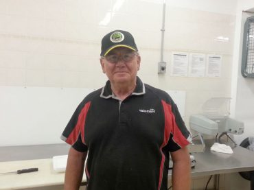 Butcher hangs up apron after 50 years and four months