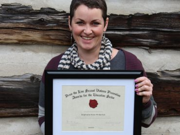 Elementary teacher wins provincial award for sexual violence prevention