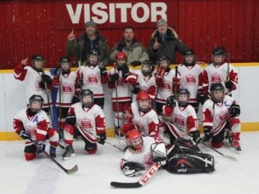 Pembroke Tornadoes win the Barry's Bay Novice hockey tournament
